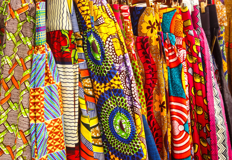 African print fashion for African Fabrics Month