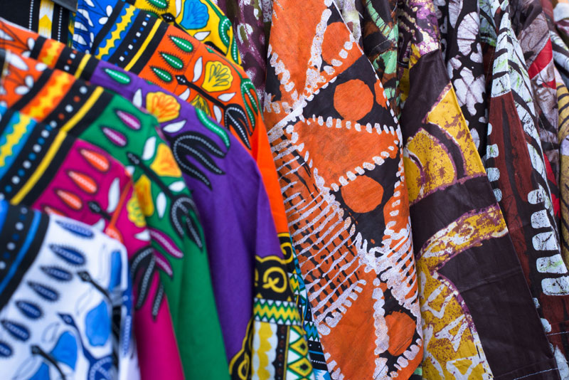 African print attire for couples
